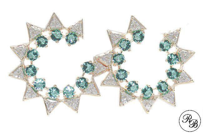 Brinco Estrela de Zirconia Rafaela Bonita