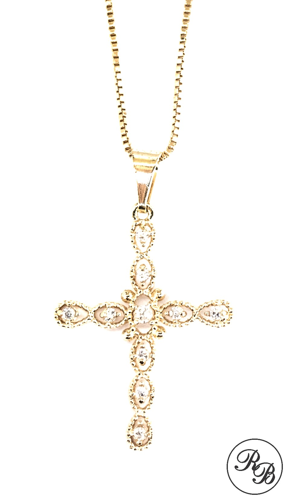 Colar Crucifixo Rafaela Bonita