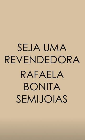 Colar Letra S Rafaela Bonita