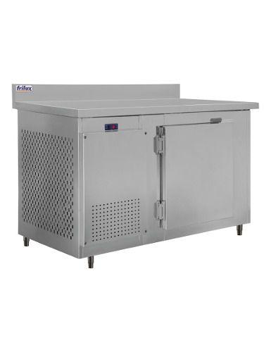 Balcão De Serviço Inox ( Encosto - Resfriados ) Frilux Rf034 355 Litros