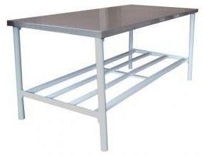 Mesa Manipulação 190x90x85cm Metalcubas Ba1900x900