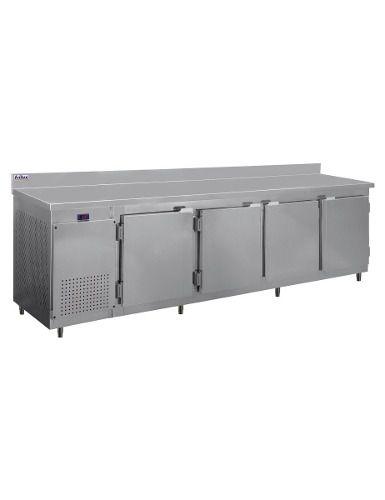 Balcão De Serviço Inox Com Encosto Frilux Rf046 860 Litros