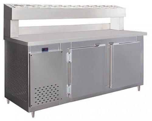 Balcão Serviço com Condimentador 2,90m Frilux Rf049 860L