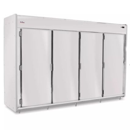 Mini Câmara Açougue 3750l Inox 304 Frilux Rf060