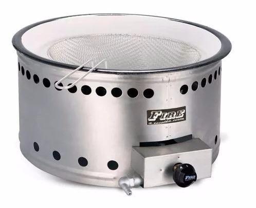 Tacho Fritador Esmaltado Fire Tag50cm Gás 5 Litros