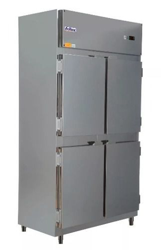 Geladeira 4 Portas Cinza 675 L Frilux Rf064p