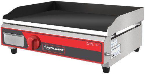 Chapa Bifeteira Gás Pro Metalcubas CBG450Pro 45cm
