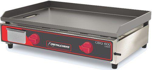 Chapa Para Sanduíche 60x46cm Metalcubas Cbg600l Gás