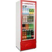 Expositor Refrigerado Conservex ERV 400 Litros Vermelho