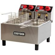 Fritadeira Dupla Croydon Fc2a Elétrica 2x3 Litros