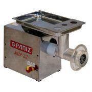 Moedor de Carne Redutor G Paniz MCR22 Inox 1,25 Cv