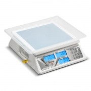 Balanca Computadora de Cristal Liquido Escala Simples c/ back light com bateria DCRB BL 15 Ramuza