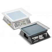 Balanca Computadora  de Cristal Liquido Escala Simples com Bateria DCR B CL 6 Ramuza