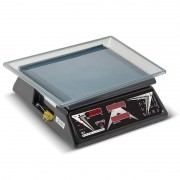 Balanca Computadora Led Vermelho Escala Simples com Bateria DCR B 15 Ramuza