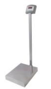 Balança Eletronica Pesadora Display LCD Plataforma W 300/50 ( 40x50 ) com coluna Welmy