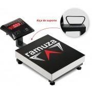 Balanca Maleta Portatil Led Vermelho c/bateria capacidade 200Kg /50g DPB 200 Kg/50g Ramuza