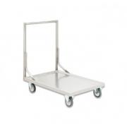 Carro Plataforma Inox Transporte Em Geral Fritomaq 1 Plano