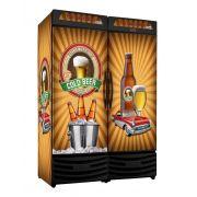 Cervejeira Vertical Cega Dupla 1200 Litros RF019 Premium Frilux