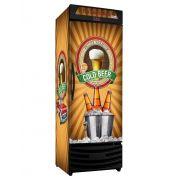 Cervejeira vertical Porta Cega 550 Litros RF017 Premium Frilux
