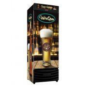 Cervejeira Vertical Porta Cega 550 Litros RF017 Pub Frilux