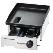 Chapa Bifeteira para Lanche Slim a Gás 1 Queimador Baixa Pressão CBS 40 cm Compact
