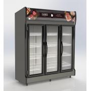 Expositor Vertical AS 3 de 3 Portas para Bebidas e Carnes 1320 L Conservex