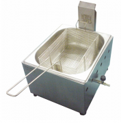 Fritador Óleo Gás Baixa Pressão Mesa 5 Litros c/ 1 cuba FGOI5 Ital Inox