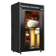Minicâmara Bebidas Porta Vidro Aquecida RF053PV Plus Frilux