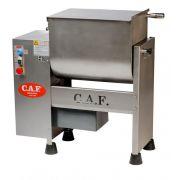 Misturadeira De Carne 60 Litros Monofásica Caf M61 Total Inox 1 Eixo