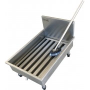 Módulo Inox Para Lavar Botas Fritomaq 40x60cm + Cabo