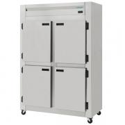 Refrigerador Comercial Inox Escovado 4 Portas ( Galvanizado Interno ) KRES - 4 PD Kofisa