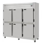 Refrigerador Comercial Inox Escovado 6 Portas ( Galvanizacao Interno ) KRES - 6PD Kofisa