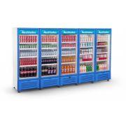 Visa Cooler Multiuso 3400 Litros Porta de Vidro VCM5P Refrimate