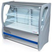 Vitrine Refrigerada para Torta Vidro Curvo 0,80m BVRTC080 Polar