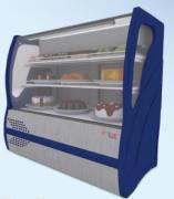 Vitrine Refrigerada para Torta Vidro Curvo 1,25m BVRTC 125 Polar