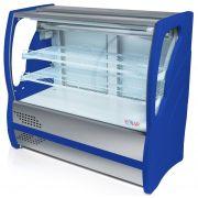 Vitrine Refrigerada para Torta Vidro Curvo 2,00m BVRTC200 Polar