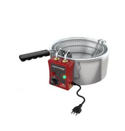 Tacho Fritador 5 L Alta P. Metalcubas Tfrg05 Gás