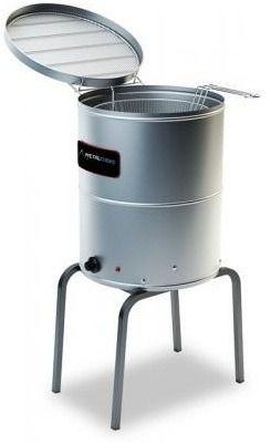 Fritador Agua Oleo 40L metalcubas TFAO40CP Eletrico