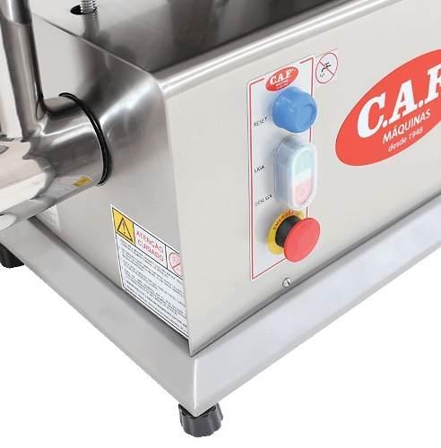 Picador de Carne Eletrônico Monofásico Caf Boca 22 Total Inox