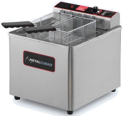 Fritador Agua Oleo 18 L Metalcubas GFAO18M Eletrico