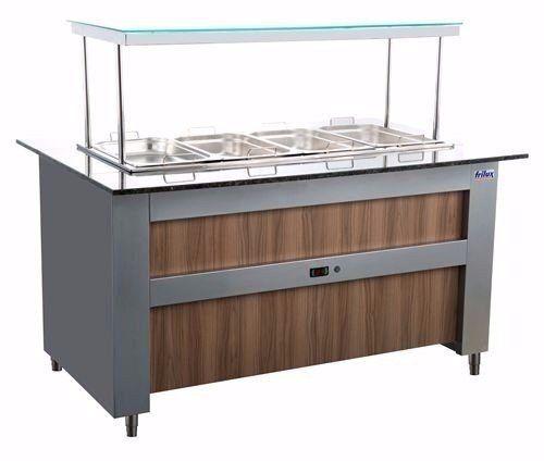Buffet Modulado Refrigerado 12 Gn Frilux Rf135