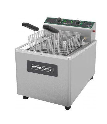 Fritador 220V Metalcubas óleo de mesa Foe 15 Litros