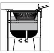 Fritador Água Óleo 1 Cuba Metalcubas Fao1cr Elétrico