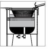 Fritador Água Óleo 1 Cuba Metalcubas Fao1c Elétrico 36L