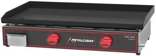 Chapa Bifeteira Gás Metalcubas CBG800C 80cm