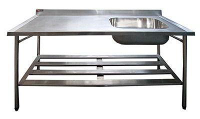 Pia Promaq Propi6 3 1800x700x850mm Aço 304 1 Cuba