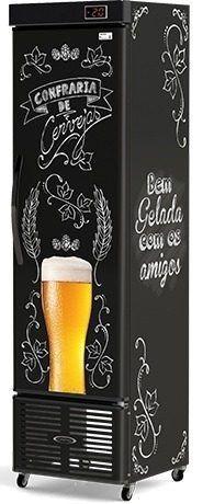 Cervejeira Vertical Cega Conservex CRV 250 Litros Bar