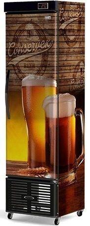 Cervejeira Vertical Cega Conservex CRV 250 Litros Pub