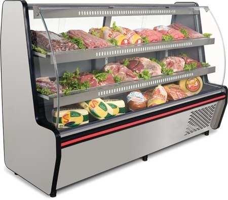 Balcão Refrigerado Visorâmico Conservex VIS200 197cm