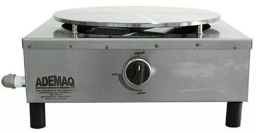 Máquina De Crepe Panquequeira Ademaq Gás